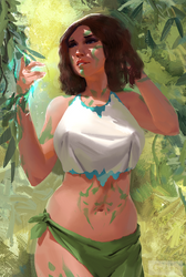 Commission: Khae'li, a New Flower in the Garden