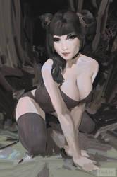 Vampire by GawkInn