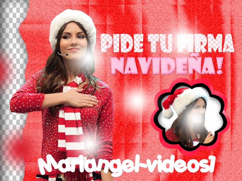 pide tu firma navidea firmas navideas gratis by mariangel videos1 - Imagenes Navideas