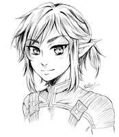 Link sketch by ChromOn