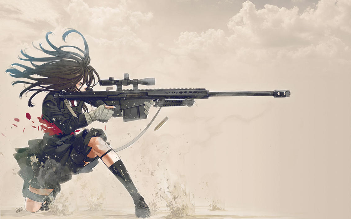 A normal Training Exercise? [Open] Sniper_Schoolgirl_Wallpaper_02_by_PimplyPete