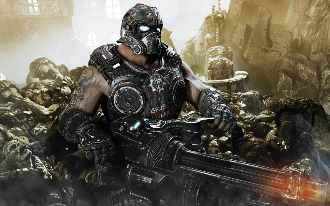 Agora e oficial terceiro carmine confirmado em gears of war 3 playtodie games - Gears of war carmine wallpaper ...