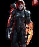 Mass Effect 3 Jane Shepard 01