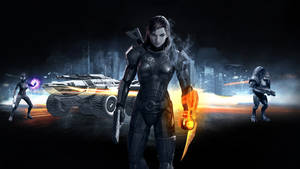 Mass Effect 3 Wallpaper 02 by PimplyPete