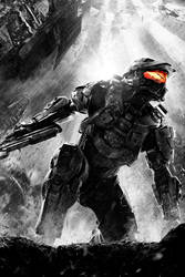 iPhone Halo 4 John 01v2 by PimplyPete