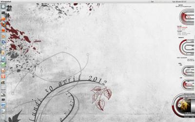 desktop 120430 - Precise Pangolin by shamen456