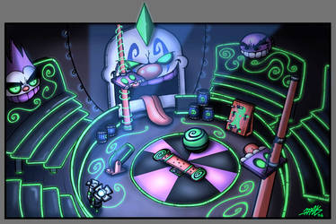 Neon Circus by VortexMax