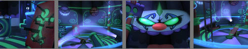 Neon Circus 3D by VortexMax
