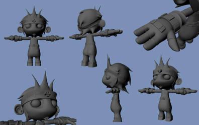 David 3D model by VortexMax