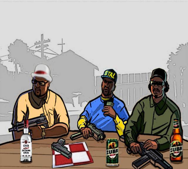 GTA SA Homies By Camil1999 On DeviantArt