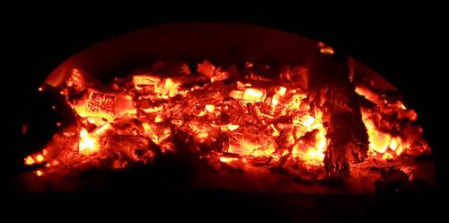 Pizza Oven Coals
