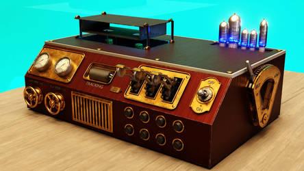 Steampunk VCR
