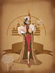 Disney steampunk:Cruella by MecaniqueFairy