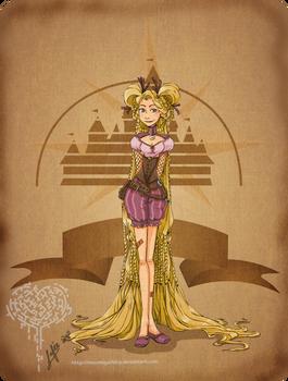 Disney steampunk:Rapunzel