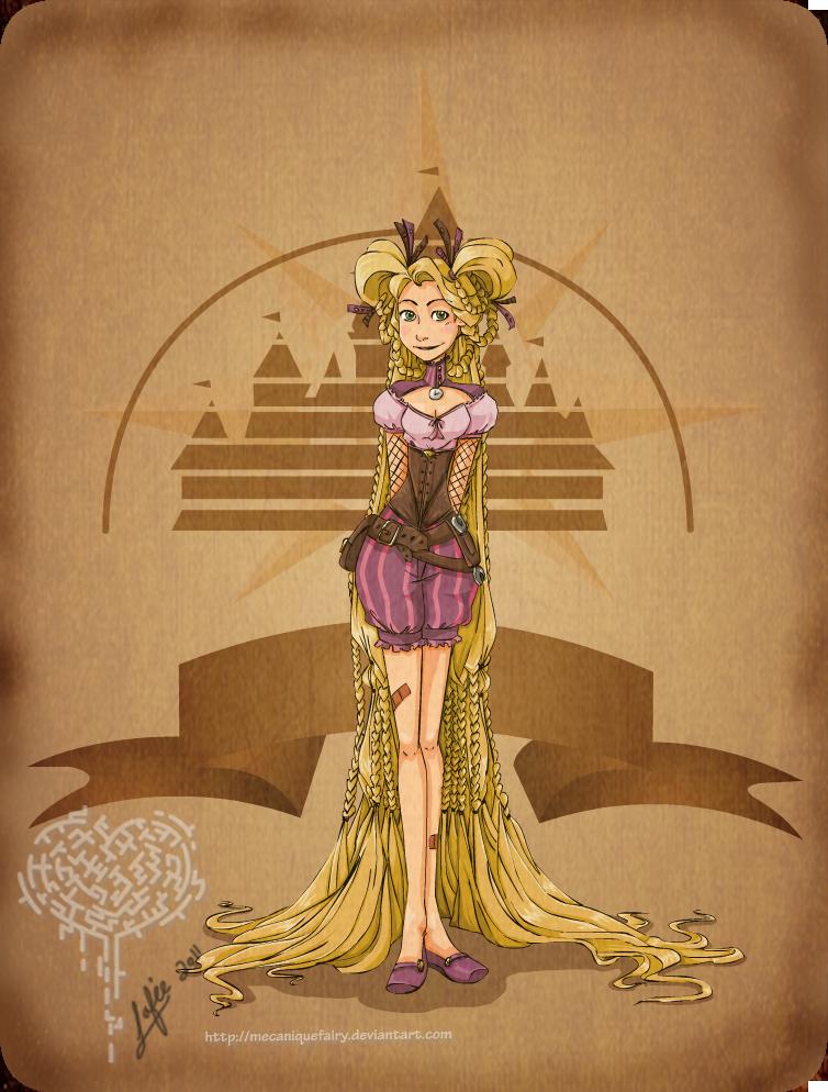 Steampunk disney belle