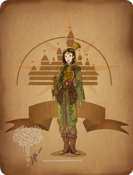 Disney steampunk: Mulan
