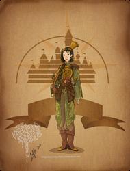 Disney steampunk: Mulan by MecaniqueFairy