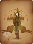 Disney steampunk: Mulan
