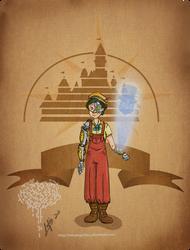 Disney steampunk: Pinocchio by MecaniqueFairy