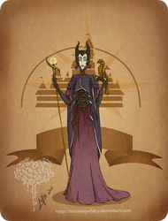 Disney steampunk: Maleficent by MecaniqueFairy
