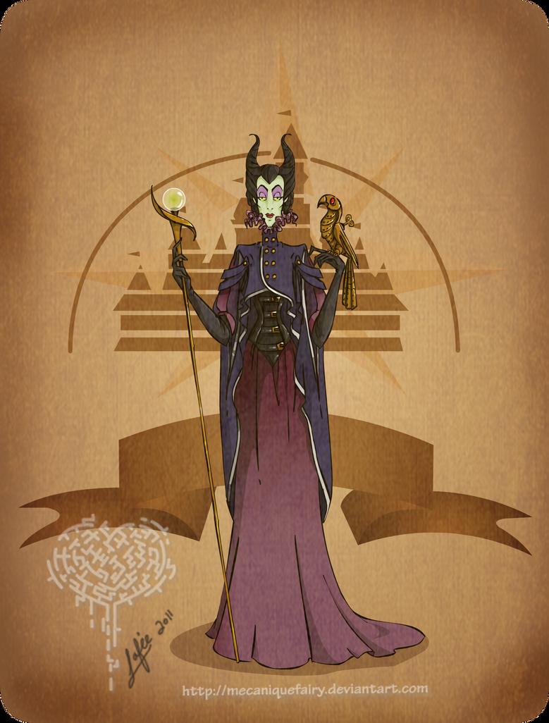 Disney steampunk: Maleficent by MecaniqueFairy