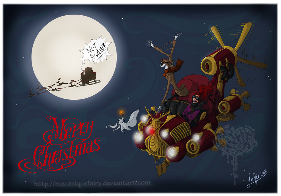Steampunk before Christmas by MecaniqueFairy on DeviantArt