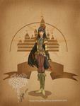 Disney steampunk: Pocahontas
