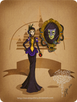 Disney steampunk: Evil queen