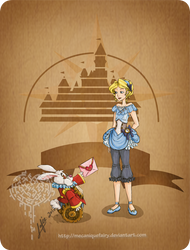 Disney steampunk: Alice by MecaniqueFairy