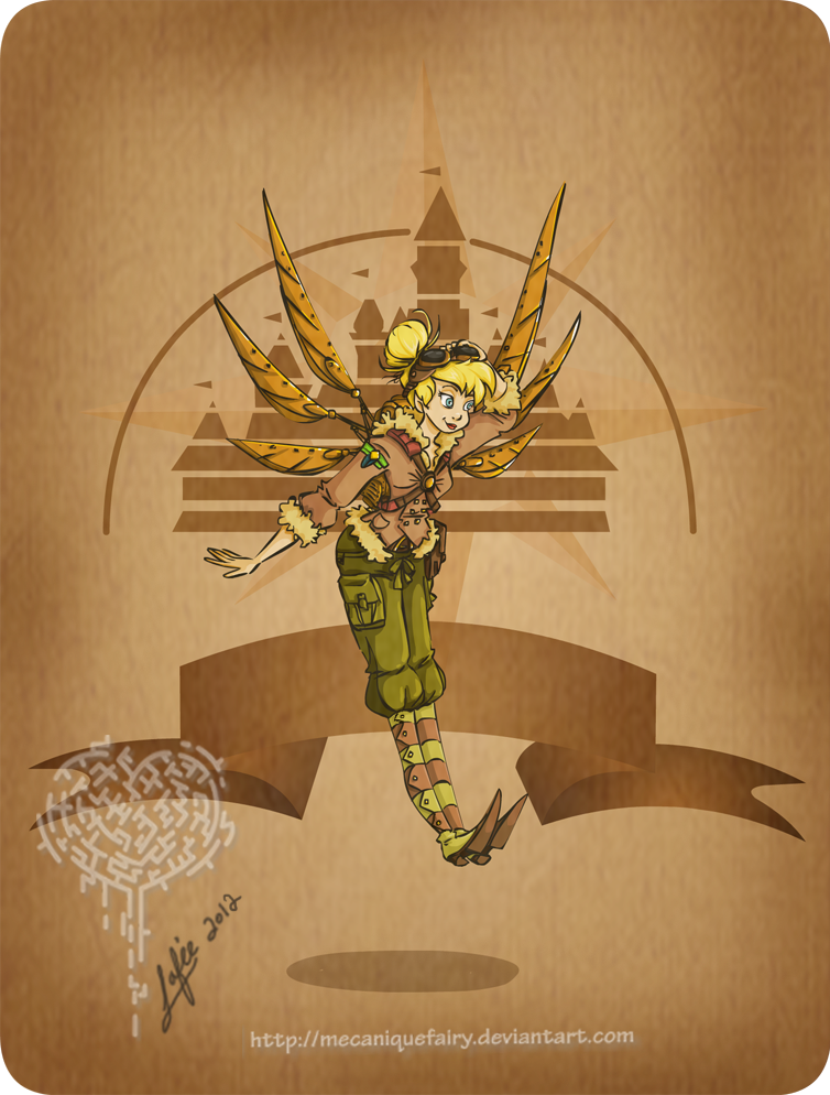 Disney steampunk: Tinker Bell by MecaniqueFairy
