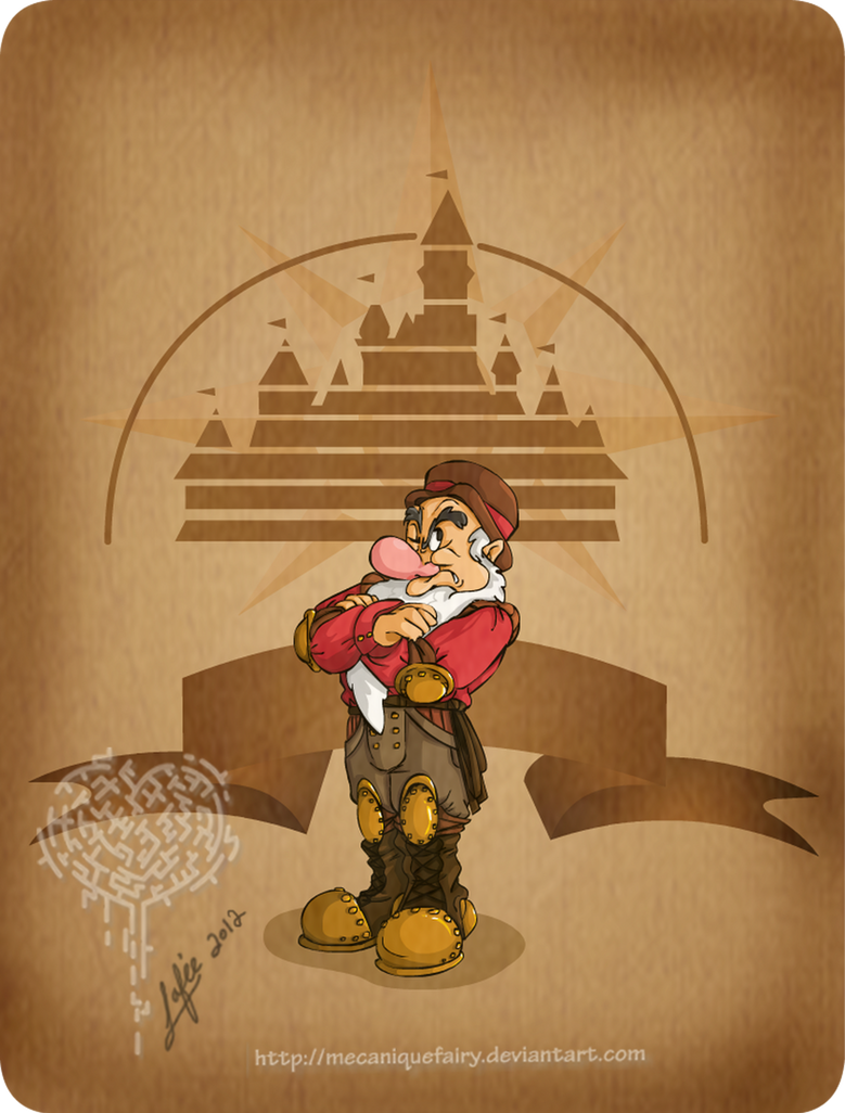 Disney steampunk: Grumpy by MecaniqueFairy