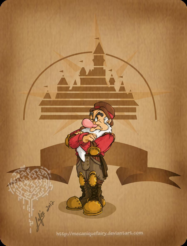 Disney steampunk: Grumpy by MecaniqueFairy