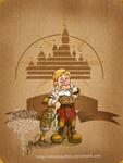 Disney steampunk: Sneezy