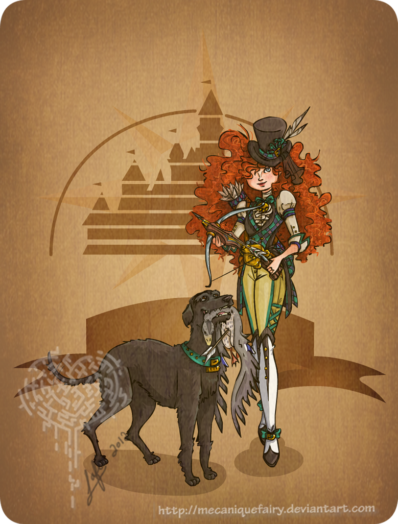 Disney steampunk: Merida by MecaniqueFairy
