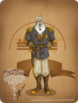 Disney steampunk: King Triton