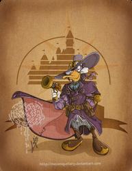 Disney steampunk: Darkwing Duck by MecaniqueFairy