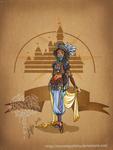 Disney steampunk: Jasmine