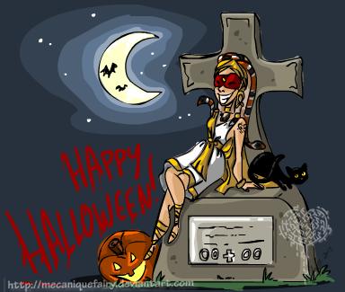 Happy Halloween by MecaniqueFairy
