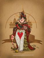 Disney steampunk: Queen of heart