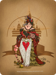 Disney steampunk: Queen of heart