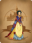 Disney steampunk: Snow-white