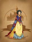 Disney steampunk: Snow-white