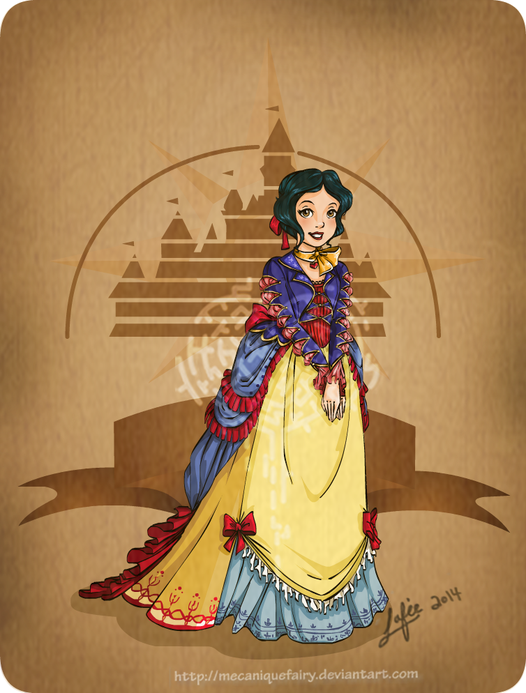 Disney steampunk: Snow-white by MecaniqueFairy