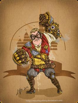 Disney steampunk: Mr Incredible
