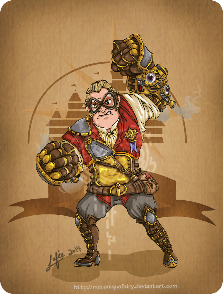 Disney steampunk: Mr Incredible