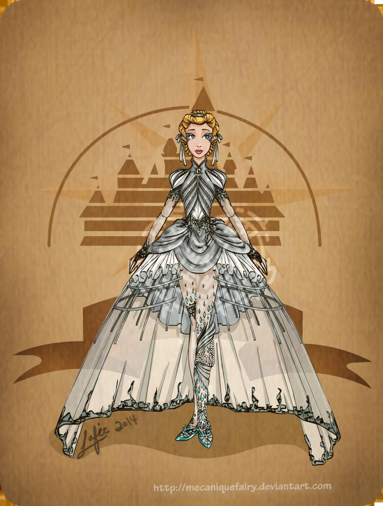 Disney steampunk: Cinderella by MecaniqueFairy