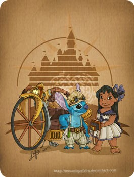 Disney steampunk: Lilo and Stitch