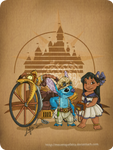 Disney steampunk: Lilo and Stitch