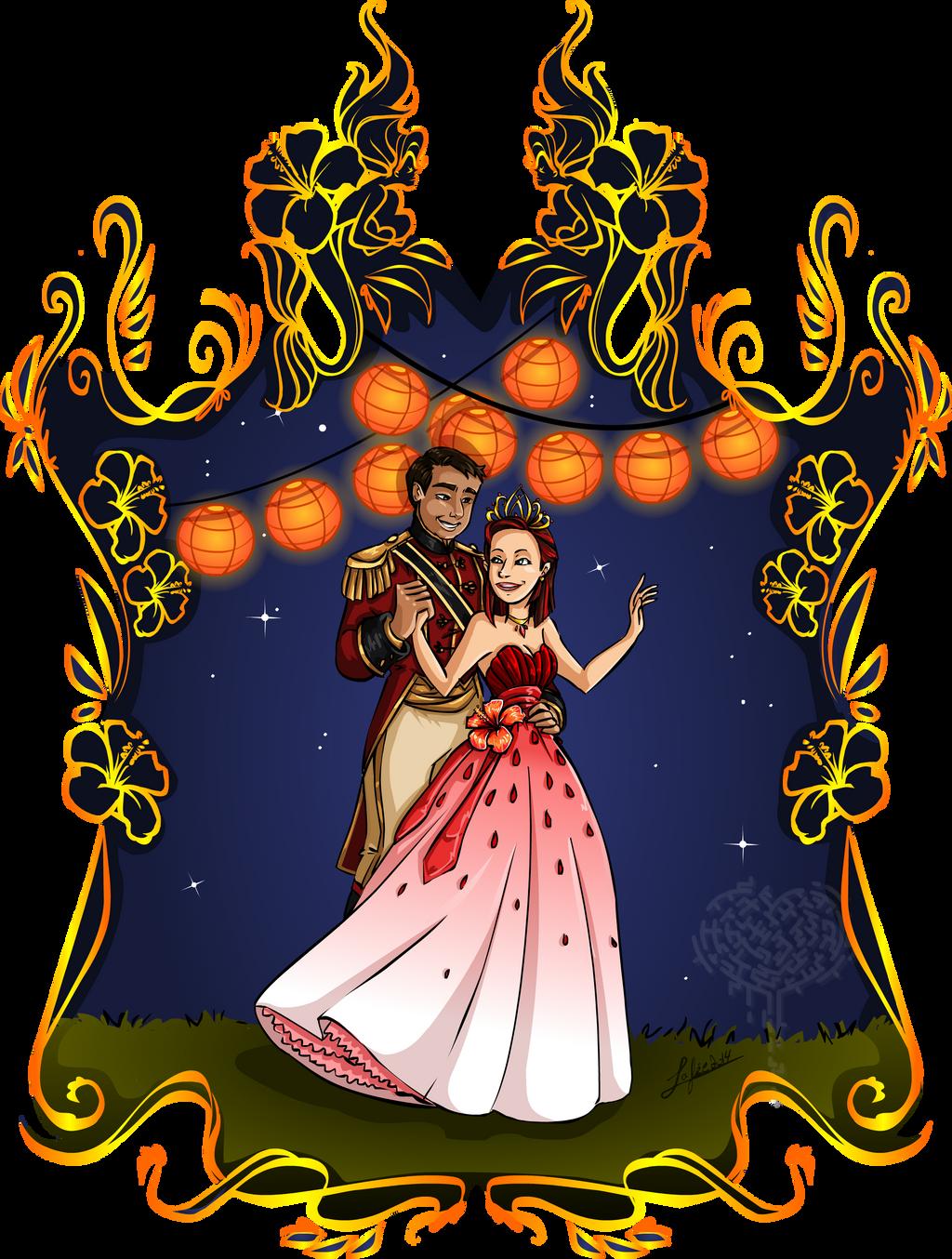 Royal couple by MecaniqueFairy