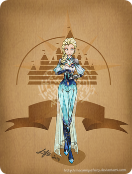 Disney steampunk: Elsa